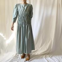 DAZZLE・Shirring Long Dress(9P33003H)