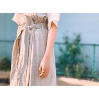 MANIC MONDAY・Linen Cut Off Long Skirt(0S65000E)