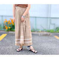 Embroidery Wrap Skirt(9S15002E)