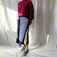 BAD・アシメコーデュロイスカート(9W15003H)