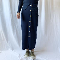 DAZZLE・リブKNIT Long Skirt(9W35005C)