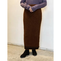 MANIC MONDAY・Cable Line Skirt(0W65001o)