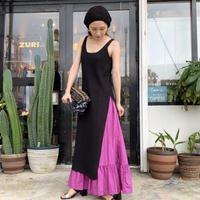 Slit Knit Camisole Dress(W9W3070O)