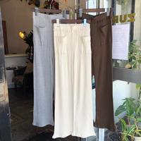 MANIC MONDAY・Cotton Rib Pants(0S64005B)