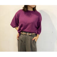 ZURI・Cropped Knit Top (0W42015H)