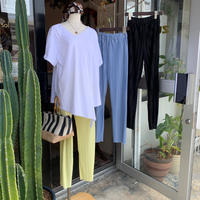 WHOO-AA・Color Pleats Pants(W0S4000H)