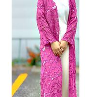 DAZZLE・Whole Cut Work Gown(0S36004E)