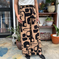 Manic Monday・Print Linen Pants(0S64000E)