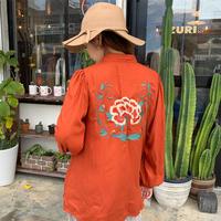 BAD・Back Embroidery China Top(0W12015E)