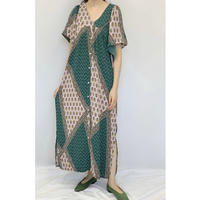 WHOO-AA・Pattern 2way C/D Dress(W0W6011)