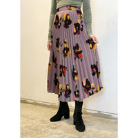 ZURI・Flower Pleats Skirt(0W45003H)