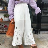 Dazzle・Cutwork Pants(8S34002E)
