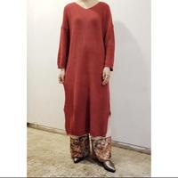 BAD・Cotton Low Gauge Knit Dress(0W13011o)