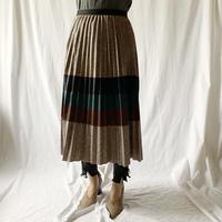 WHOO-AA・ラインプリーツスカート(W9W5012)