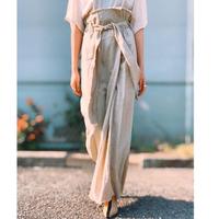 MANIC MONDAY・リネンカットオフロングスカート(0S65000E)