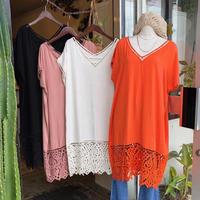 DAZZLE・Lace Cutwork Dress(0S33009E)