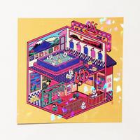 銭湯ポストカード(中村杏子)