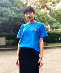 【数量限定】KEEP MOVING T-SHIRT (MEDIUM BLUE)