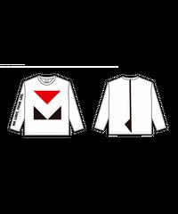 ロングTシャツC : WHITE (MOVE FESロゴ)