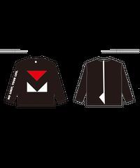 ロングTシャツC : BLACK (MOVE FESロゴ)