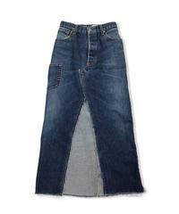 105XX  FLONT SLIT TIGHT SKIRT    Size X-SMALL     #001