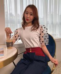 【即納】パフスリーブTシャツ