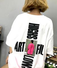 ユニセックスバックプリントTシャツ