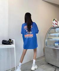 【即納】ユニセックスオーバーサイズTシャツ