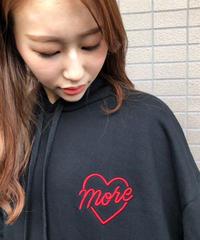 more heart hoodie