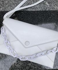 Blanc chain bag