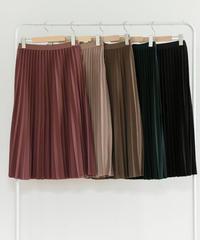 5色プリーツスカート