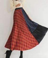 パターンカラースカート