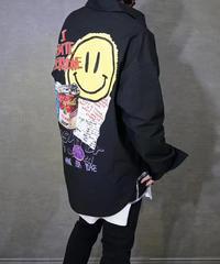 【即納】 smiley hate Shirt