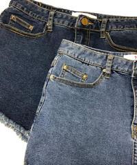 denim shorts【即納】