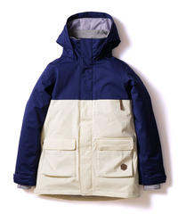 Bicolor Jacket - Navy/White