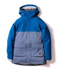 Bicolor Jacket - Blue/Gray