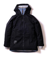 Straight Zip Jacket - Black