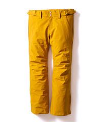 Stretch Straight Pants - Mustard