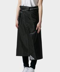 DLITE レインスカート 丈91cmロングタイプ - Black