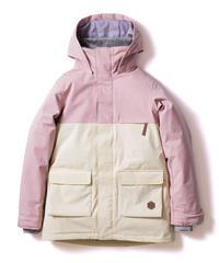 Bicolor Jacket - Pink/White