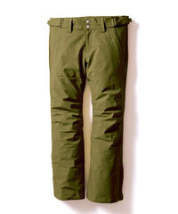Stretch Straight Pants - Khaki