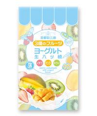 夏季限定 ヨーグルト生八ッ橋 (3種のフルーツ)