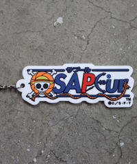 LIMITED■ONEPIECE×SAPEur■RUBBER KEYRING
