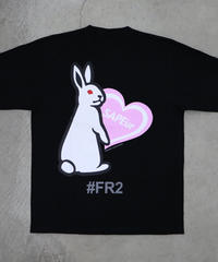 【GLR235】 HEART RABBIT L/S TEE【PINK】