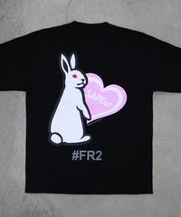 【GLR235】 HEART RABBIT L/S TEE【PINK】