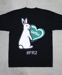 【GLR235】 HEART RABBIT L/S TEE【GREEN】
