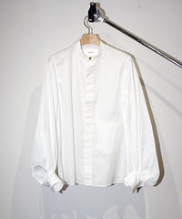 JANESMITH ジェーンスミス / GATHER SLEEVE SHITRS ギャザースリーブシャツ / 20WBL-#511L
