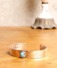 NORTH WORKS ノースワークス /Circle turquoise bangle / W-017