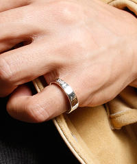【Kis-My-Ft2 玉森裕太さん着用】HARIM ハリム / The Good Ring リング 指輪 4 WH / HRR035 WH