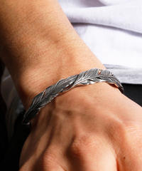 HARIM ハリム / Double Feather Bangle SILVER / HRA034SV